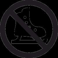 Знак Не Кататься на Коньках 2