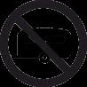 Знак Трейлер Запрещен 2