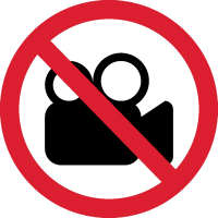 Видеосъемка Запрещена 1