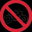 Знак Въезд на Мотоцикле Запрещен 1