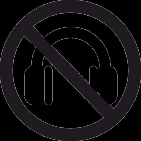 Наушники Запрещены 2