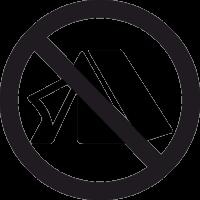 Знак Устраивать палатку Запрещено 2