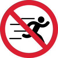 Бегать Запрещено 1