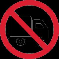 Въезд на Грузовой Машине Запрещен 1