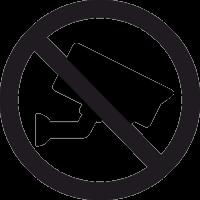 Знак Видеонаблюдение Запрещено 2