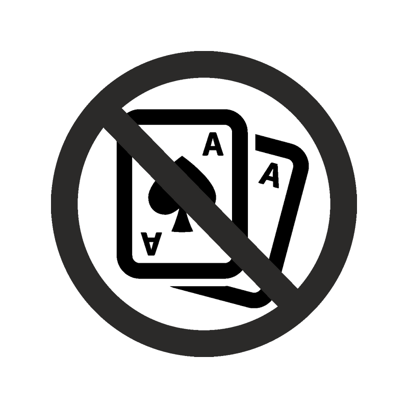 играть в ли карты запрещено