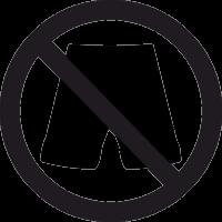 Входить в шортах Запрещено 2