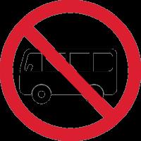 Автобусам въезд Запрещен 1