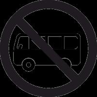 Автобусам въезд Запрещен 2