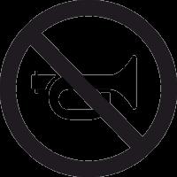 Знак Сигналить Запрещено 2