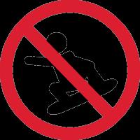 Кататься на Сноуборде Запрещено 1