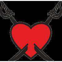 Сердце с Саблями