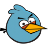 Синяя из Angry Birds
