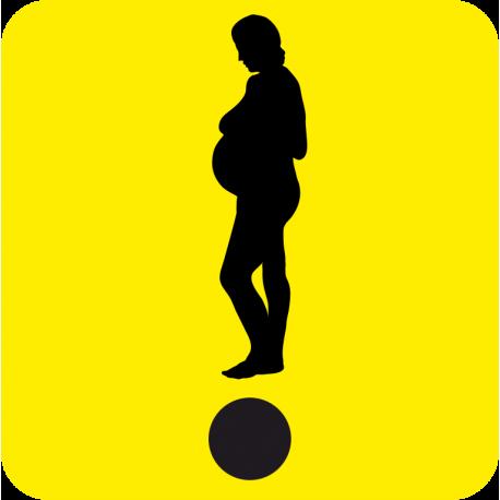 Начинающий водитель Беременная девушка