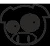 Subaru Pig знак памяти о раллийной истории марки Subaru