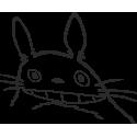 """Totoro - """"Тоторо"""" - фигурка персонажа классики анимэ"""