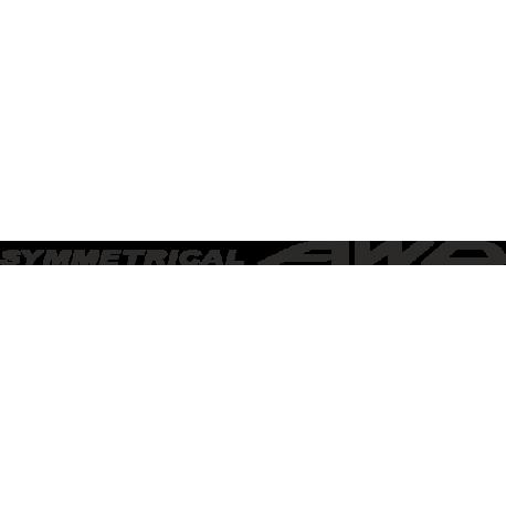 Symmetrical AWD - Subaru Impreza Symmetrical AWD
