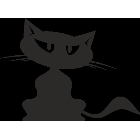 Кошка с большими Глазами