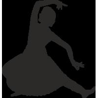 Индианка в танце