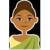 Женщина индианка