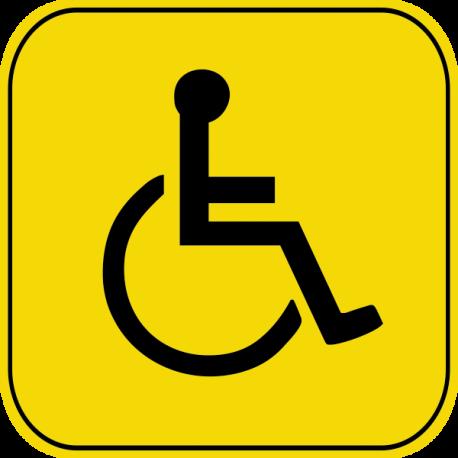 Знак инвалид за рулём