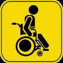 Знак инвалид за рулем 3