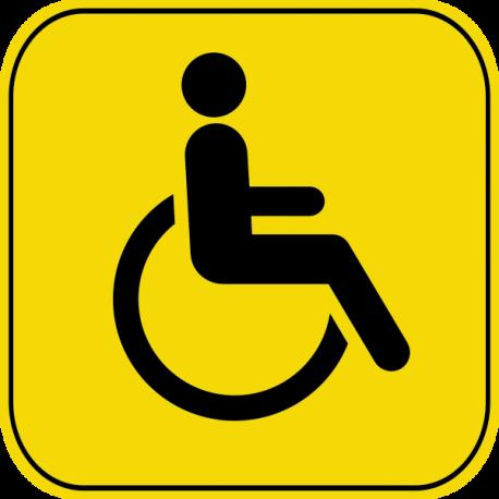 Знак инвалид с 2019 года: оформление, регистрация, ПДД