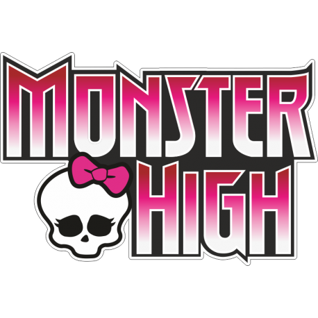 Логотип Monster High