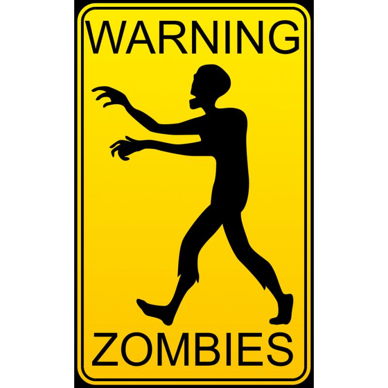 Картинки осторожно зомби