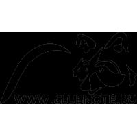 Логотип клуба с адресом сайта