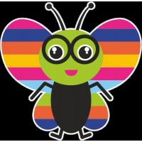 Весёлая бабочка 2