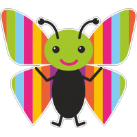 Весёлая бабочка 3