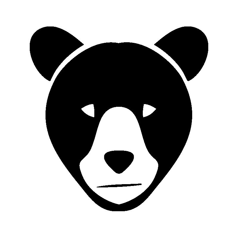 Яндексе маленькая, мордочка мишки рисунок