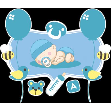 Спящий младенец мальчик 3
