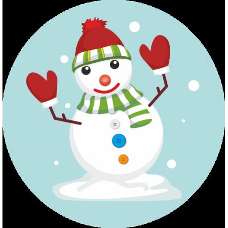 Снеговик 5