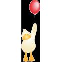 Утенок с воздушным шариком