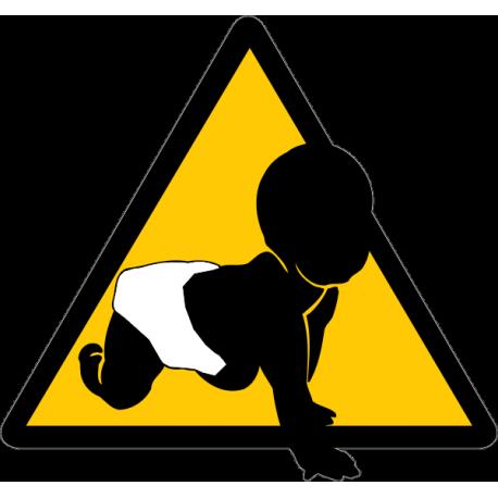 Знак - Ребёнок в машине