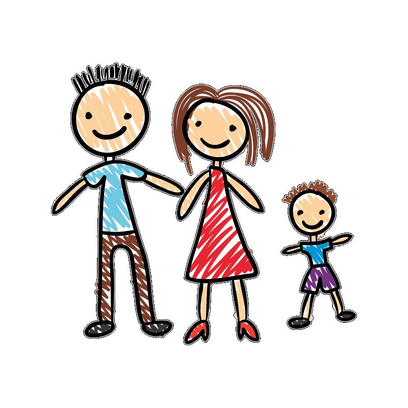 Мама и папа картинки мультяшные для детей на прозрачном фоне