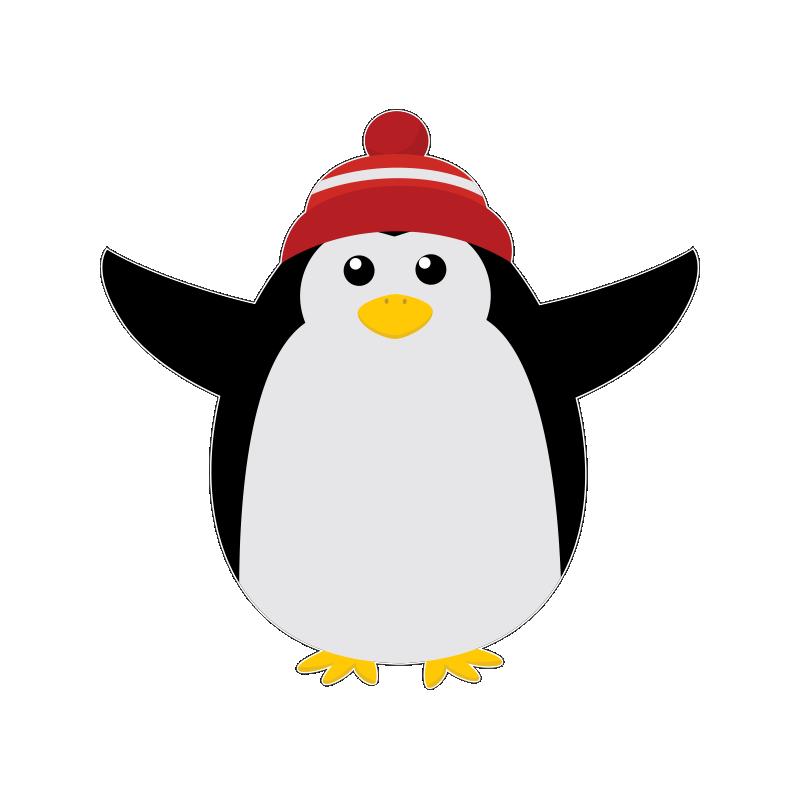 новогодние пингвины картинки американский колорит