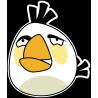 Белая птица из Angry Birds