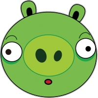 Свинья из Angry Birds