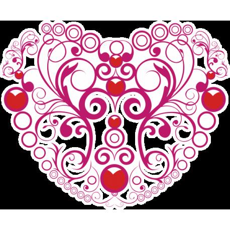 Узор сердце