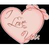 Сердце I love you