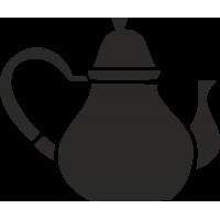 Чайник с широким дном