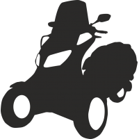 Трехколесный скутер