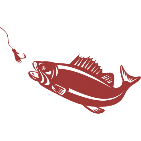Рыба хочет проглотить крючок