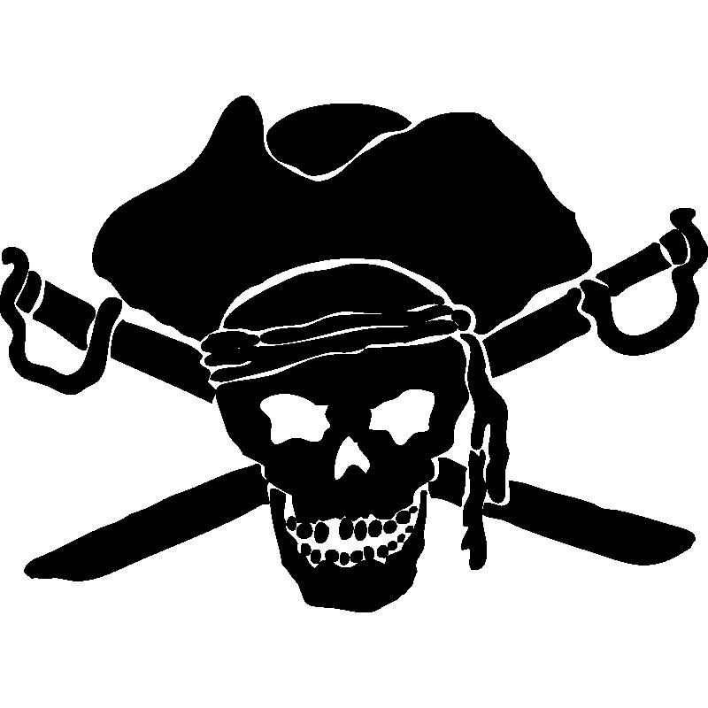 картинка черепа на пиратском флаге видом экономической
