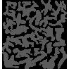 Камуфляжные пятна набор 1
