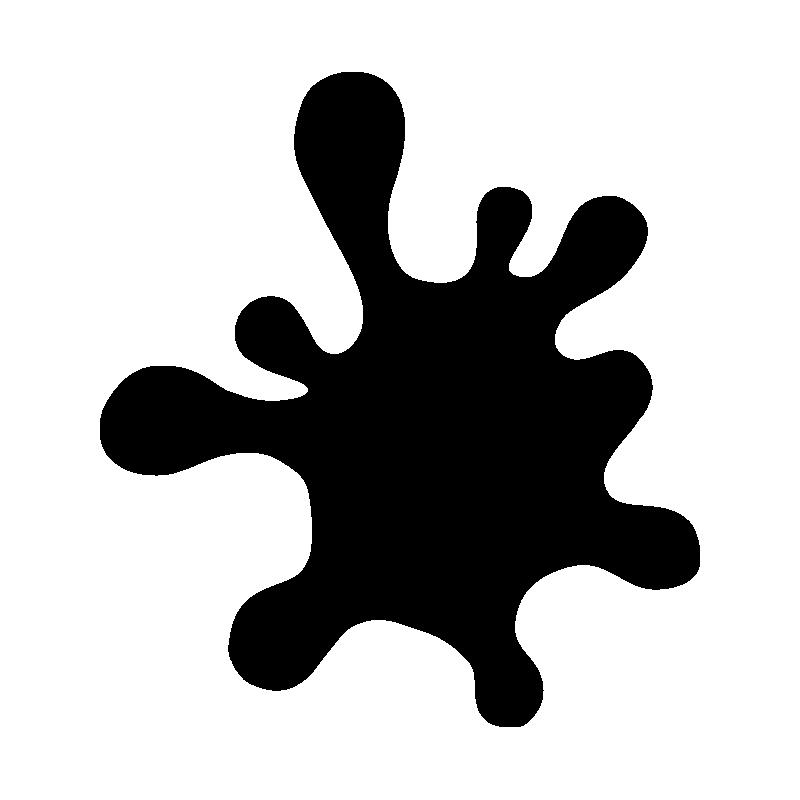 Картинка шаблон клякса