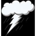 Туча и молния